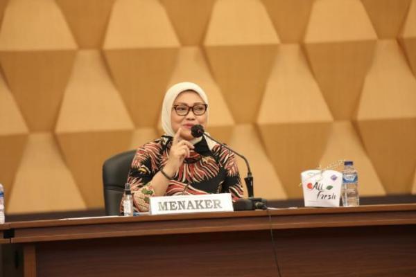 Menteri Ida Apresiasi Tim Tripartit Rampungkan Pembahasan RUU Cipta Kerja