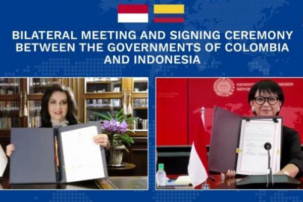 Indonesia-Kolombia Tingkatkan Kerjasama Bilateral
