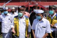 Menteri PUPR Tinjau Persiapan Renovasi Stadion I Wayan Dipta Bali