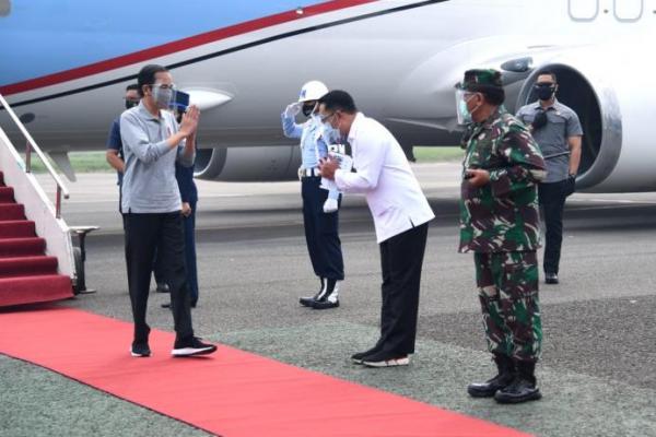 Kunker ke Bandung, Presiden Jokowi Tinjau Fasilitas Produksi Vaksin Covid-19