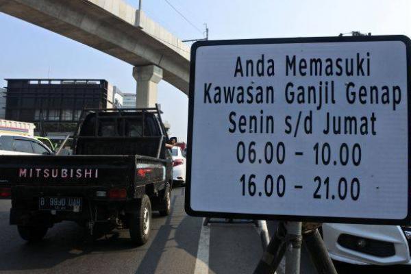 Jakarta Kembali Berlakukan Ganjil-Genap, Jalanan Jadi Lebih Lancar