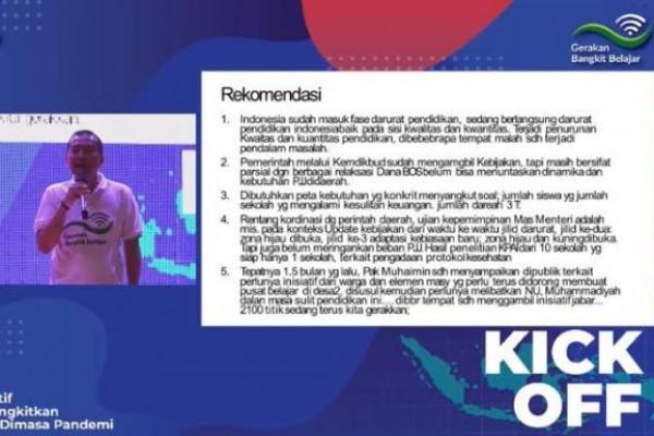 Darurat Pendidikan Indonesia, Syaiful Huda Paparkan 5 Objektif