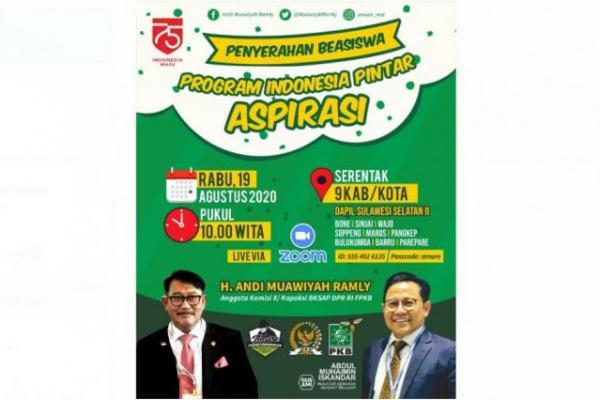 AMURE Distribusikan Rp10 M Beasiswa PIP di Sulawesi Selatan