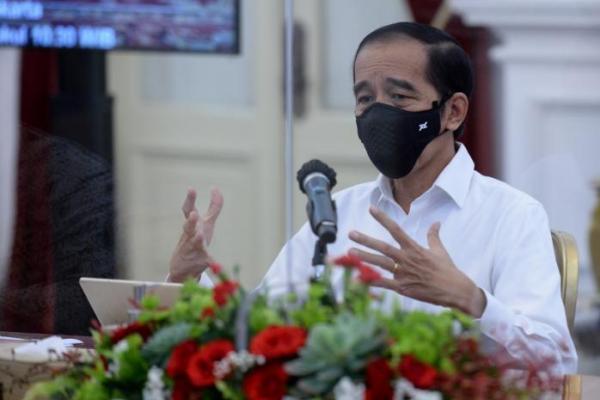 Jokowi Minta Jajararannya Fokus Tangani Kesehatan dan Pemulihan Ekonomi
