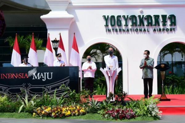 Presiden Jokowi Resmikan Yogyakarta International Airport