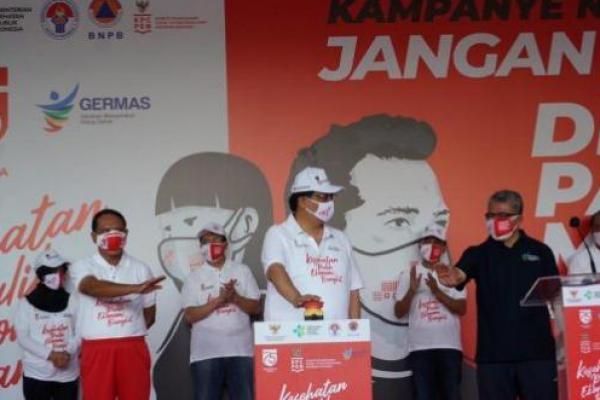 Kemenkes Lakukan Kampanye Nasional Disiplin Pakai Masker