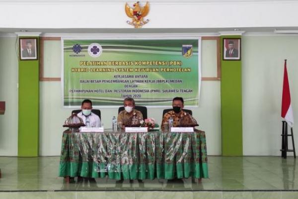 BBPLK Medan Gelar Hybrid e-Learning Pariwisata di Palu