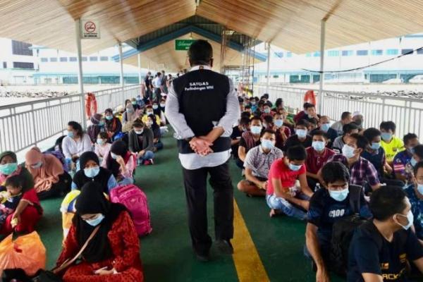 131 WNI Dideportasi dari Malaysia Lewat Kalimantan Utara