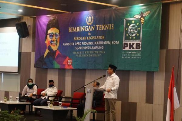 PKB Lampung Gelar Sekolah Legislator dengan Protokol Kesehatan Ketat