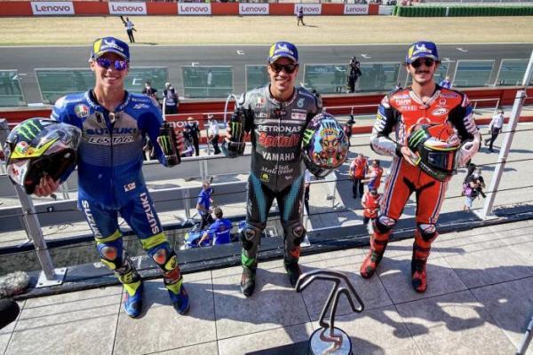 MotoGP San Marino 2020: Franco Morbidelli Juara, Rossi Gagal Podium