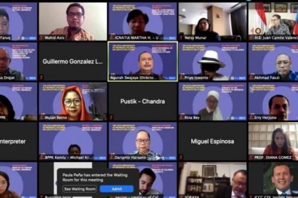 Peringati 40 Tahun Hubungan Diplomatik, Momentum Indonesia -Kolombia Pererat Kerjasama