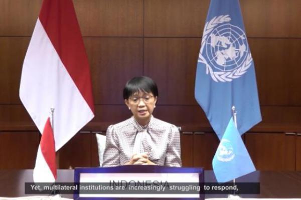 Menlu Ajak Negara-negara di Dunia Perkuat Multilateral di Tengah Pandemi
