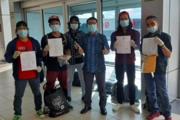 KBRI Panama City Kembali Bantu Kepulangan WNI ABK