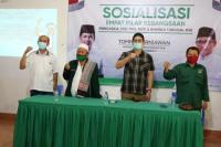 Sosialisasi 4 Pilar, Tommy Kurniawan Ingatkan Masyarakat Tetap Solid