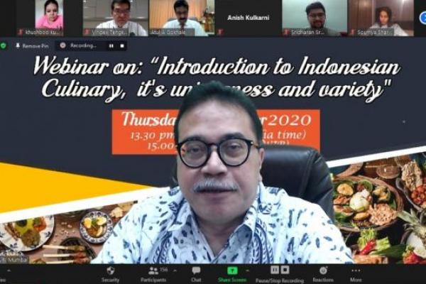 Promosikan Kuliner Indonesia, KJRI Mumbai Gandeng Chef Vindex Tengker
