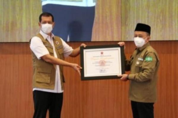 LPBI NU Terima Penghargaan dari BNPB Atas Kontribusi Penanggulangan Bencana