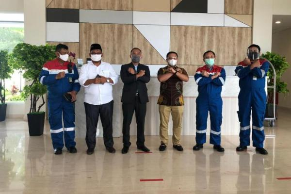 Reses, Anggota Komisi VII DPR Abdul Wahid Kunjungi Pertamina RU II Dumai
