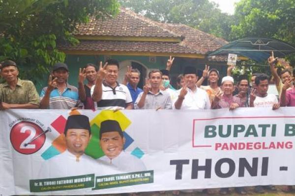 Warga Bojong Siap Dukung Thoni-Imat di Pilkada Pandeglang