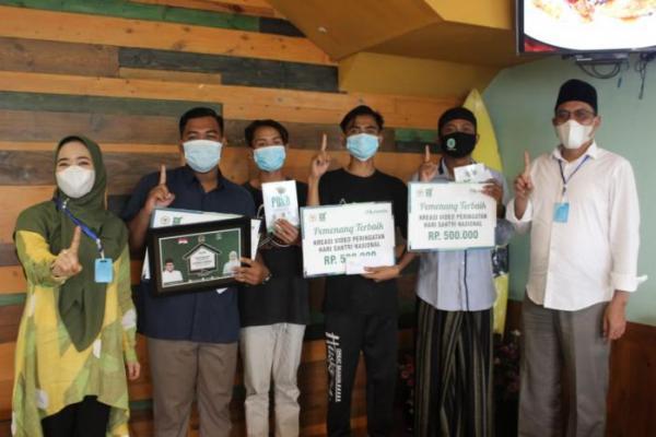 Hari Santri, Ratna Juwita Kunjungi Lembaga Pendidikan Islam dan Gelar Lomba Video