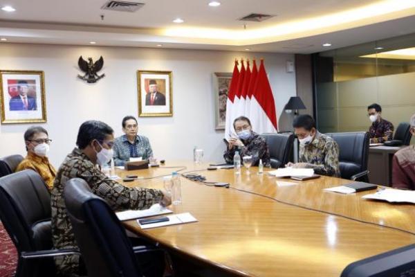 Mendag Hadiri Pertemuan Virtual dengan US-ASEAN Business Council