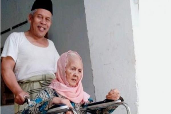 Ibunda KH. Marzuki Mustamar, Nyai Hj. Siti Zainab, Wafat