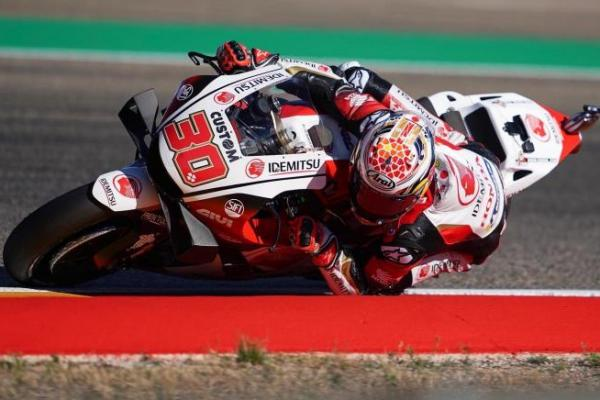 Hasil Kualifikasi MotoGP Teruel 2020: Takaaki Nakagami Catat Pole Position Pertamanya