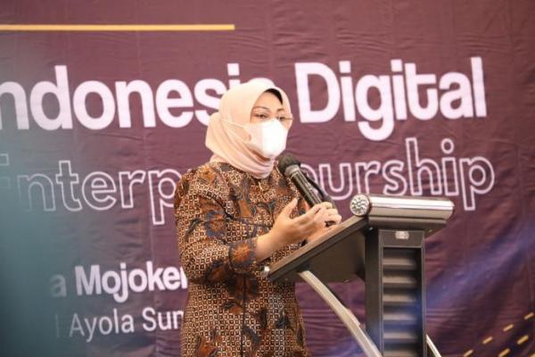 Menaker Ida Ajak Pelaku Wirausaha Kembangkan Platform Digital