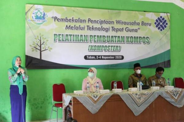 Ratna Juwita Dorong Pengolahan Sampah Organik Jadi Alternatif Kelangkaan Pupuk