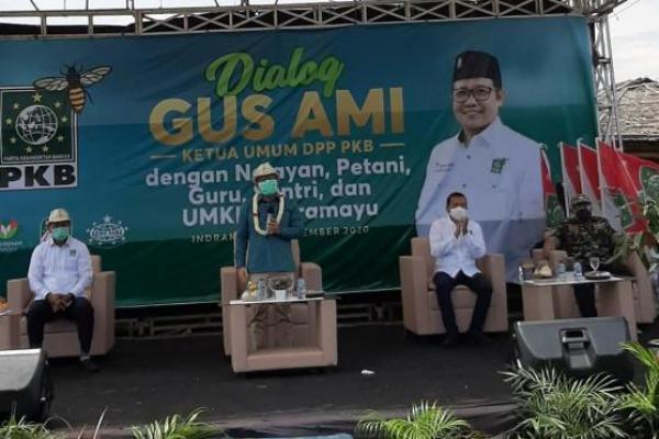 Ke Indramayu, Gus AMI Dialog dengan Petani dan Nelayan