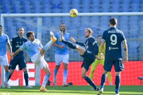 Tandang ke Olimpico, Juventus Tertahan