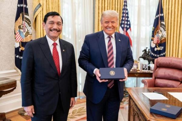 Temui Trump, Luhut Apresiasi Fasilitas GSP Untuk Indonesia