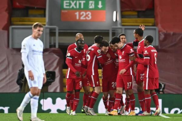 Liverpool Bungkam Leicester City 3 Gol Tanpa Balas
