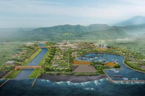 PUPR Mulai Bangun Pengendali Banjir di Hilir Tukad Unda, Bali