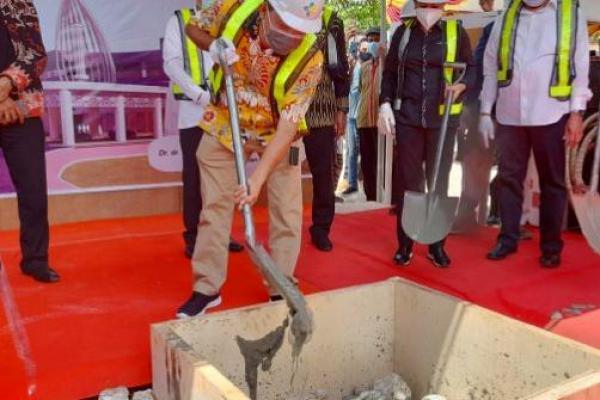 Peletakan Batu Pertama Pembangunan RSUP Kupang