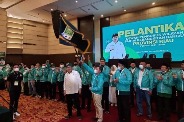 Abdul Wahid Kembali Pimpin PKB Riau