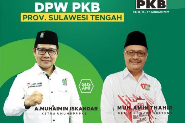 Gelar Muswil Keempat, PKB Sulteng Target Tiga Besar Pileg 2024