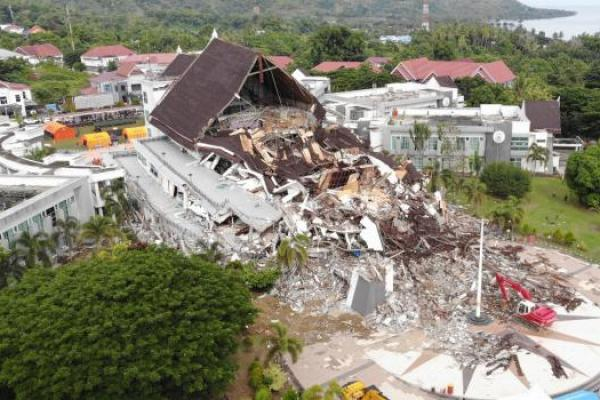 Kerugian Akibat Gempa Sulbar Capai Rp829 Miliar