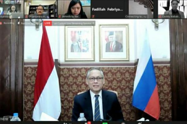 Hadapi Ketidakpastian Global, Indonesia dan Rusia Tingkatkan Kemitraan