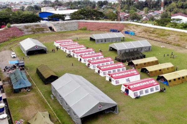 Kemensos Dukung Pemulihan Psikososial bagi Pengungsi Gempa Sulbar