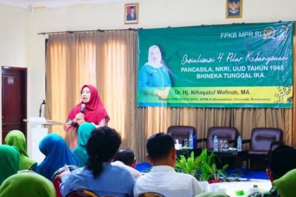 Soal Covid-19, Nihayatul Wafiroh: Stop Beda Pendapat, Ayo Gotong Royong