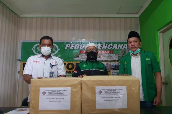 BLK Samarinda Distribusikan Bantuan untuk Korban Banjir Kalsel