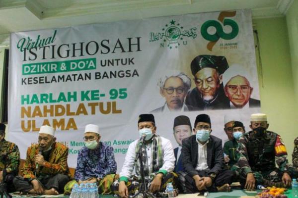 Peringati Harlah NU ke-95, PCNU Kota Tangerang Gelar Istighotsah, Dzikir dan Doa