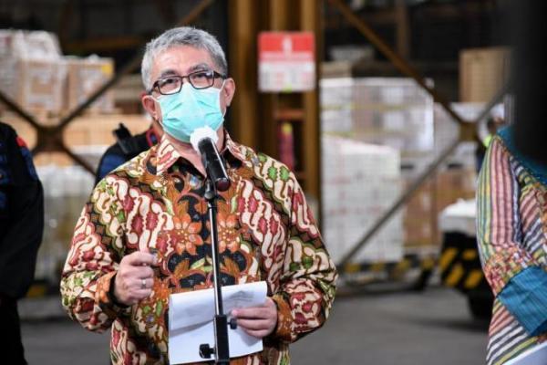 10 Juta Bahan Baku Vaksin Sinovac Tiba di Indonesia