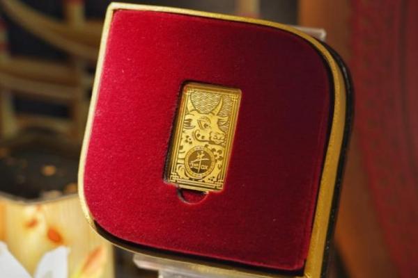 Sambut Imlek, Antam Luncurkan Emas Edisi Imlek Tahun Kerbau