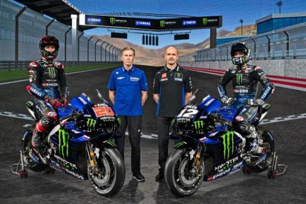 Tim Monster Energy Yamaha Luncurkan Motor Baru untuk MotoGP 2021