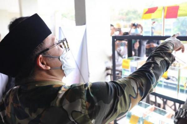 Hadiri Kontes Ikan Cupang di Sukabumi, Gus AMI: UMKM Penyelamat Krisis