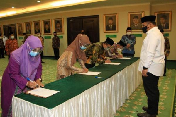Menag Lantik Kakanwil Kemenag Banten