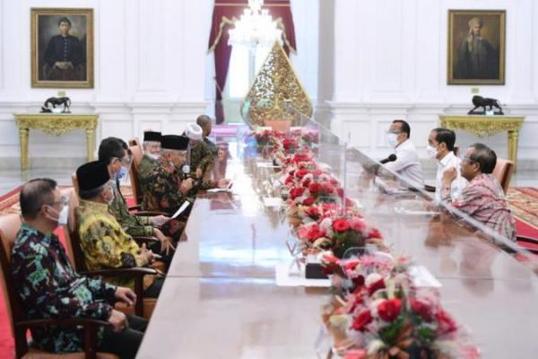Dipimpin Amien Rais, Tim TP3 Enam Laskar FPI Temui Presiden Jokowi