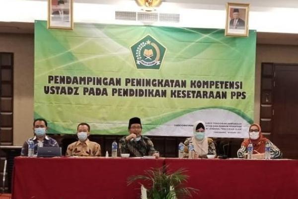 Tingkatkan Kompetensi, Kemenag Lakukan Pendampingan Terhadap Ustad Ponpes Salafiyah