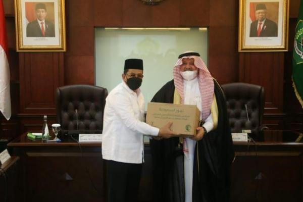 Kemenag Terima Hibah 100 Ton Kurma dari Arab Saudi